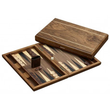 Backgammon board in Wood Cyclades Delos L