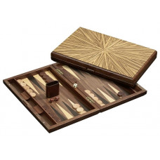 Backgammon board in Wood Cyclades Mykonos L