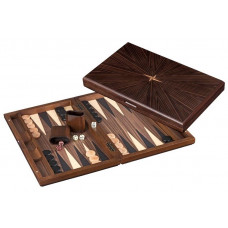 Backgammon board in Wood Cyclades Rinia L