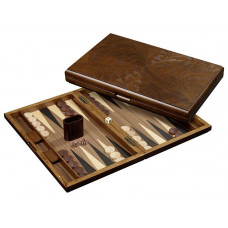 Backgammon board in Wood Cyclades Iraklia L