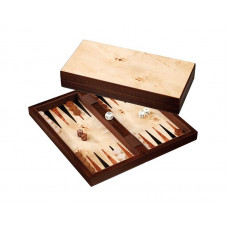 Backgammon set in Wood Erikousa S Travel