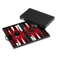 Backgammon L, Standard in Red