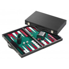 Backgammon L, Standard in Green