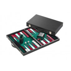 Backgammon M, Classic in Green