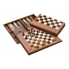 Tre i ett kombi-spel i trä, L Rekommenderas till hemmet