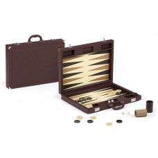 Backgammon-set Tradition XL Dal Negro i brunt