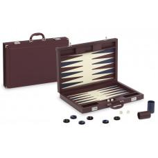 Backgammon-set Tradition XL Dal Negro i bordeaux