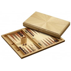 Backgammon set in Wood Milos L
