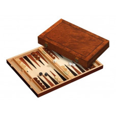 Backgammon set in Wood Astypalia M