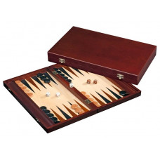Backgammonspel i trä Tilos M+