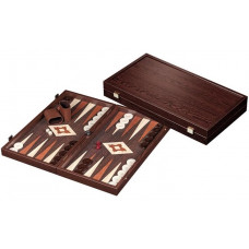 Backgammon set in Wood Limnos L