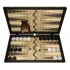 Backgammon set in Wood Koufonisi L