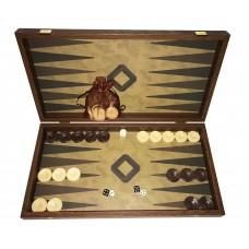 Backgammonspel i trä Giaros L