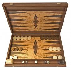 Backgammon set in Wood Akrathi L