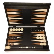 Backgammon i trä och skinn Nikouria L
