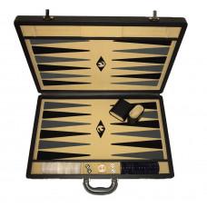 Backgammonspel Popular XL Beige 45 mm bg-pjäser