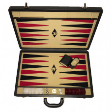 Backgammon board XL Popular Beige 45 mm Stones