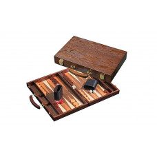 Backgammon complete set Made of Wood Syros M