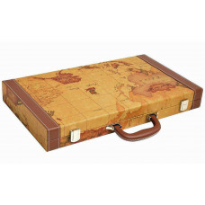 Backgammon L Middleton MAP in Brown
