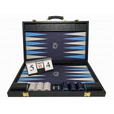 Backgammon Tournament M-gammon i mörkblått