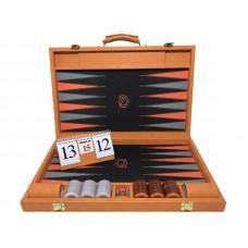Backgammon Tournament M-gammon i orange