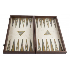 Backgammon Board in Wood Peasant L