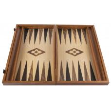 Backgammon Board in Walnut Apollon L