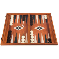 Backgammon Board in Mahogany Pluton L