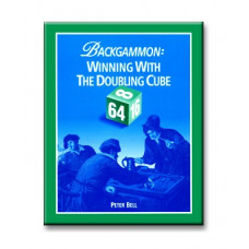 "Backgammon book  ""Winning with the Doubling Cube"" 196 p"