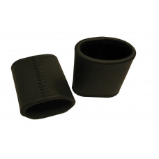 Leather Dice Cups Oval in Black