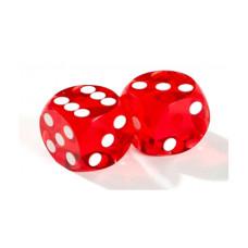 Officiella precisionstärningar backgammon 14 mm orange