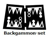 Backgammon-set