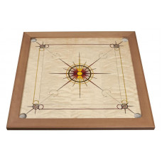 Carrom set Superior Red