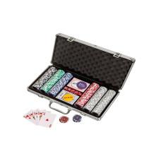 Komplett poker-set i aluminium väska