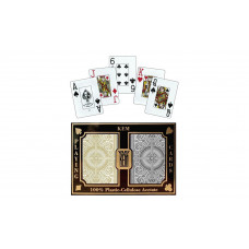 KEM Playing Cards Jumbo Arrow Narrow Black & Gold
