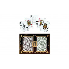 KEM Playing Cards Jumbo Jacquard Narrow in Box