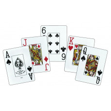 KEM Playing Cards Jumbo Paisley Narrow in Box