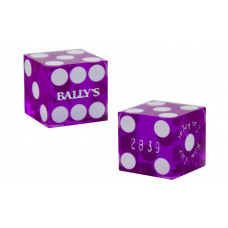 Casino Precision Dice from Casinos in Las Vegas