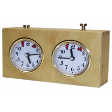 Chess clock BHB mechanical wooden case