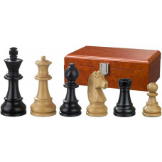 Wooden Chessmen Ludwig XIV hand-carved KH 110 mm
