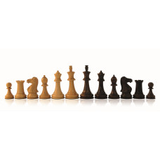 Wooden Chessmen Hand-carved Staunton KH 76 mm