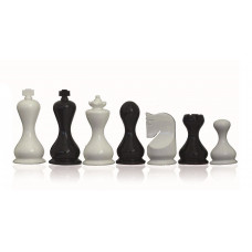 Modern Chessmen Glossy Gallant KH 95 mm