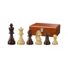 Wooden Chessmen Hand-carved Barbarossa KH 65 mm