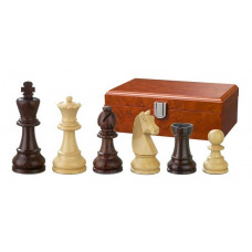 Wooden Chessmen Hand-carved Barbarossa KH 90 mm