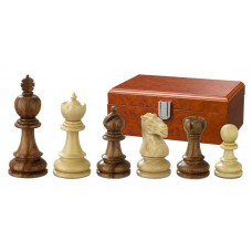 Wooden Chessmen Hand-carved Valerian KH 90 mm