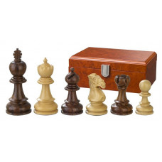Wooden Chessmen Hand-carved Avitus KH 90 mm
