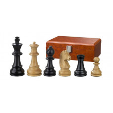 Wooden Chessmen Ludwig XIV hand-carved KH 83 mm