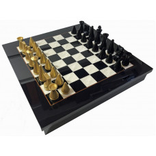 Chess & Checkers Set Not Foldable ML Superior