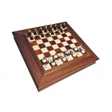 Chess & Draughts ML Alabastrin Not foldable