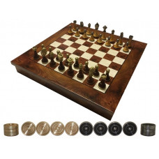 Chess & Draughts ML Elegant Not foldable